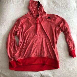 Adidas orange hoodie